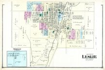 Leslie - South, Ingham County 1874 with Lansing