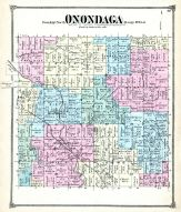 Onondaga Township, Winfield P.O., Ingham County 1874 with Lansing