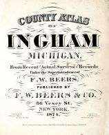 Ingham County 1874 with Lansing