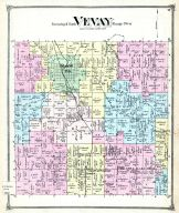 Vevay Township, Chapins Stations, Mason P.O., Ingham County 1874 with Lansing