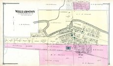 Williamston, Ingham County 1874 with Lansing