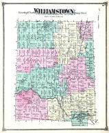 Williamstown Township, Alverson, Ingham County 1874 with Lansing