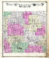 Orange township atlas ionia county 1875 michigan historical map orange township publicscrutiny Gallery