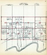 Index Map - Ionia City, Ionia County 1931