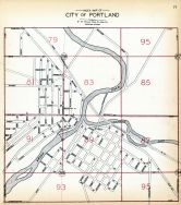 Index Map - Portland City, Ionia County 1931