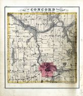 Concord Township, Jackson County 1874