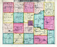 County Map, Jackson County 1874