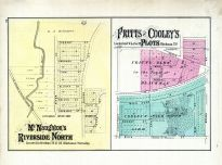 Riverside North, Blackman Township - Fritts And Cooley's Plots, Jackson County 1874