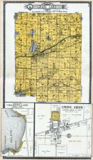 Grass Lake Township, Gillett's Lake, Spring Arbor, Jackson County 1911