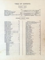 Index 1, Table of Contents, Jackson County 1911