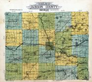 Outline Map, Jackson County 1911