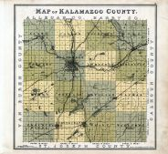 County Map, Kalamazoo County 1890