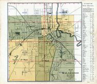Index Map - Kalamazoo City, Kalamazoo County 1890