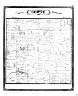 Bowne Township, Kent County 1876