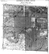 Page 6 - 11 - 16 - Paris Township,  Kentwood and Grand Rapids, Sec. 16 - Aerial Index Map, Kent County 1960 Vol 2