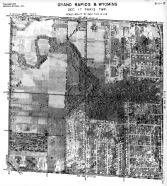 Page 6 - 11 - 17- Paris Township, Grand Rapids and Wyoming, Sec. 17 - Aerial Index Map, Kent County 1960 Vol 2