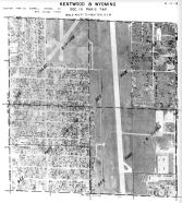 Page 6 - 11 - 19 - Paris Township, Kentwood and Wyoming, Sec. 19 - Aerial Index Map, Kent County 1960 Vol 2