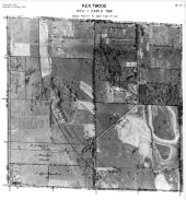 Page 6 - 11 - 1 - Paris Township, Kentwood, Sec. 1 - Aerial Index Map, Kent County 1960 Vol 2
