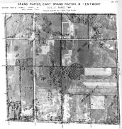 Page 6 - 11 - 2 - Paris Township, Grand Rapids, East Grand Rapids and Kentwood, Sec. 2 - Aerial Index Map, Kent County 1960 Vol 2