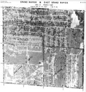 Page 6 - 11 - 3 - Paris Township, Grand Rapids and East Grand Rapids, Sec. 3 - Aerial Index Map, Kent County 1960 Vol 2