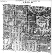 Page 6 - 11 - 4 - Paris Township, Grand Rapids and East Grand Rapids, Sec. 4 - Aerial Index Map, Kent County 1960 Vol 2