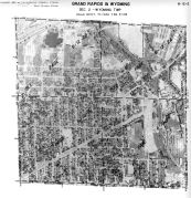Page 6 - 12 - 2 - Wyoming Township, Grand Rapids and Wyoming, Sec. 2 - Aerial Index Map, Kent County 1960 Vol 2
