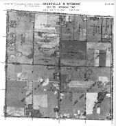 Page 6 - 12 - 30 - Wyoming Township, Grandville and Wyoming, Sec. 30 - Aerial Index Map, Kent County 1960 Vol 2