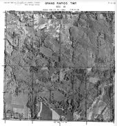 Page 7 - 11 - 13 - Grand Rapids Township, Sec. 13 - Aerial Map, Kent County 1960 Vol 2
