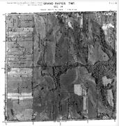 Page 7 - 11 - 14 - Grand Rapids Township, Sec. 14 - Aerial Map, Kent County 1960 Vol 2