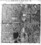Page 7 - 11 - 23 - Grand Rapids Township, Sec. 23 - Aerial Index Map, Kent County 1960 Vol 2