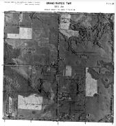 Page 7 - 11 - 24 - Grand Rapids Township, Sec.24 - Aerial Map, Kent County 1960 Vol 2