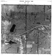 Page 7 - 11 - 25 - Grand Rapids Township, Sec.25 - Aerial Index Map, Kent County 1960 Vol 2
