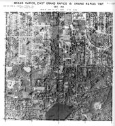 Page 7 - 11 - 28 - Grand Rapids, East Grand Rapids and Grand Rapids Township, Sec 28 - Aerial Index Map, Kent County 1960 Vol 2
