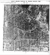 Page 7 - 11 - 33 - Grand Rapids and East Grand Rapids, Sec. 33 - Aerial Index Map, Kent County 1960 Vol 2