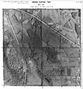 Page 7 - 11 - 35 - Grand Rapids Township, Sec. 35 - Aerial Index Map, Kent County 1960 Vol 2