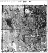 Page 7 - 11 - 3 - Grand Rapids Township, Sec. 3 - Aerial Index Map, Kent County 1960 Vol 2