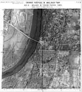 Page 7 - 11 - 6 - Grand Rapids and Grand Rapids Township, Sec. 6 - Aerial Index Map, Kent County 1960 Vol 2