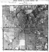 Page 7 - 11 - 9 - Grand Rapids and Grand Rapids Township, Sec. 9 - Aerial Index Map, Kent County 1960 Vol 2