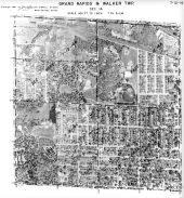 Page 7 - 12 - 14 - Grand Rapids and Walker Township, Sec. 14 - Aerial Index Map, Kent County 1960 Vol 2
