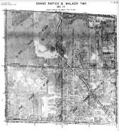 Page 7 - 12 - 15 - Grand Rapids and Walker Township, Sec. 15 - Aerial Index Map, Kent County 1960 Vol 2