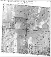 Page 7 - 12 - 16 - Grand Rapids and Walker Township, Sec. 16 - Aerial Index Map, Kent County 1960 Vol 2