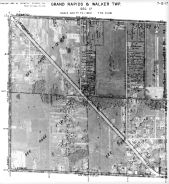 Page 7 - 12 - 17 - Grand Rapids and Walker Township, Sec. 17 - Aerial Index Map, Kent County 1960 Vol 2