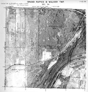 Page 7 - 12 - 34 - Walker Township, Sec. 34 - Aerial Map, Kent County 1960 Vol 2