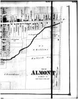 Almont - Below Right, Lapeer County 1874