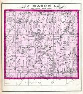Macon Township, Lenawee County 1874