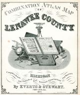 Title Page, Lenawee County 1874