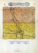 Clinton Township, Tecumseh Township, Newburg, Raisin River, Lenawee County 1928
