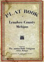 Cover Page, Lenawee County 1928