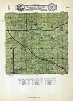 Woodstock Township, Addison, Goose Lake, Devil's Lake, Cement City, Lenawee County 1928