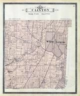 Clinton Township, Mount Clemens, Cady, Macomb County 1895
